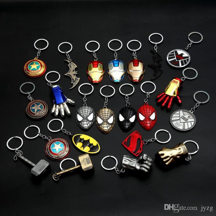 Großhandel Marvel Universe The Avengers Serie Schlüsselbund Infinite War Fashion Superhero Schlüsselanhänger Für Frauen Männer Schmuck Schlüsselhalter Schmuck