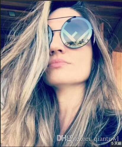 RUN AWAY 0285/S black/grey Round Sunglasses 0285 Fashion sunglasses Eyewear Driving Glasses Summer New in box