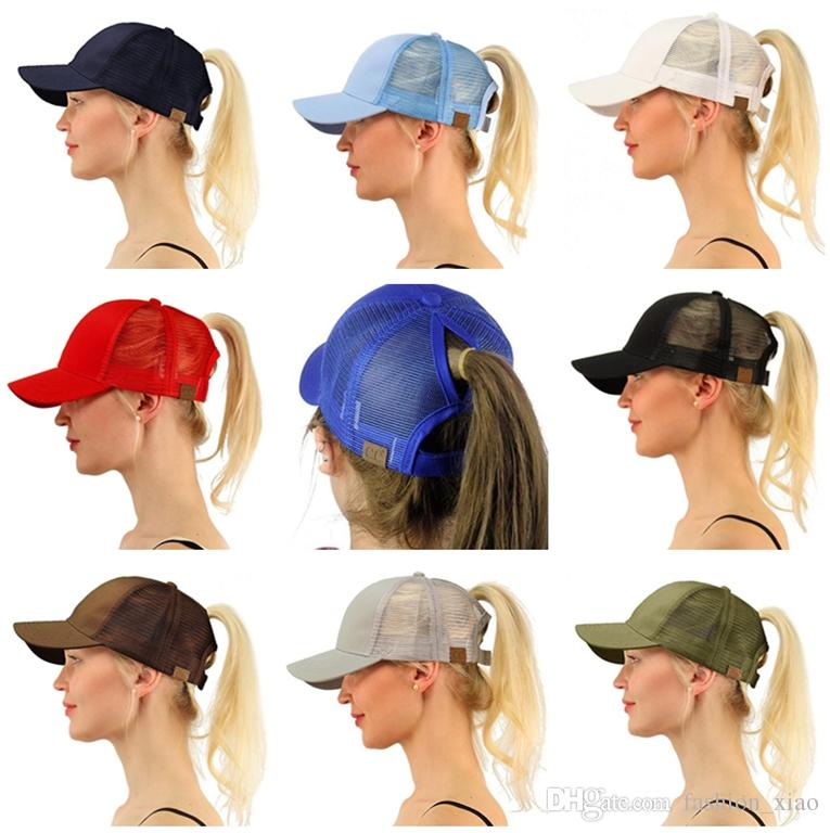 CC Ponytail Cap Messy Bun Women Ponytail Caps Cap Fashion Girl Basketball  Hats Back Hole Pony Tail KKA438351 Classic Simplicity AAA Quality Free  Shipping ... 2b9629a3d3b9