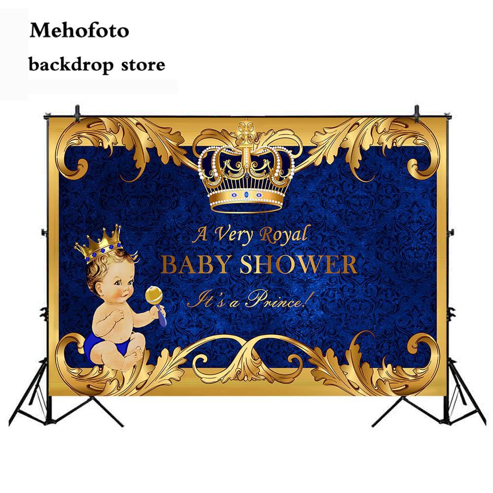 Acquista Vendita Allingrosso Royal Prince Baby Shower Sfondo Oro
