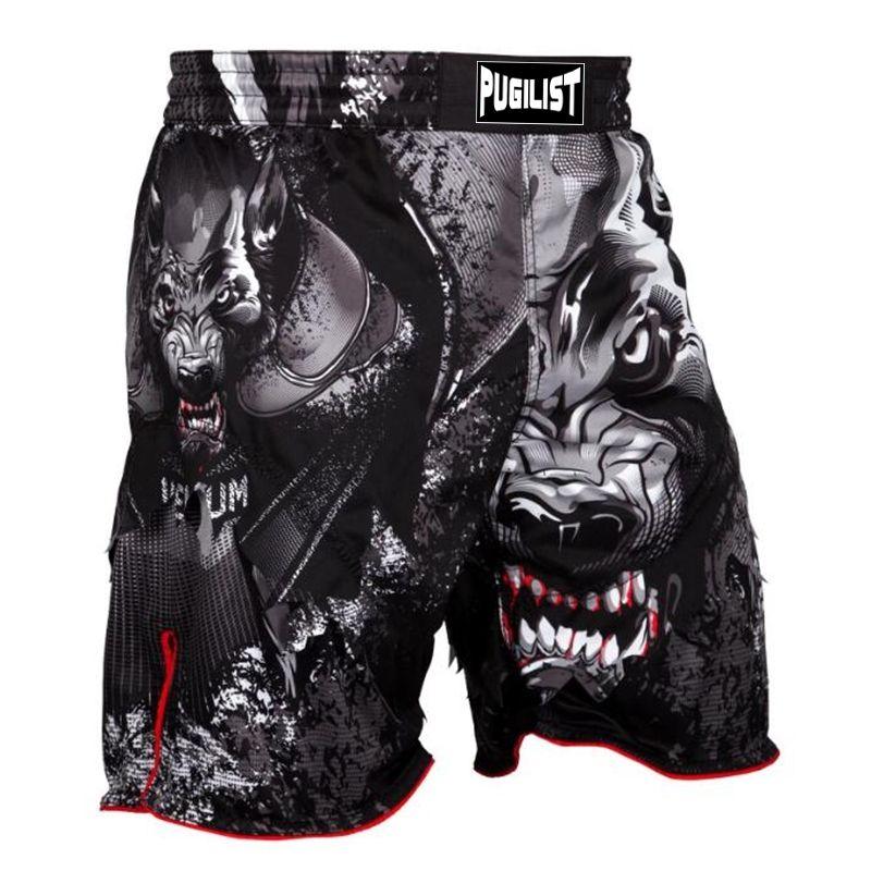 Mma De Hombre Pantalones Lobo Cortos Compre Luchando EIYeDHb29W