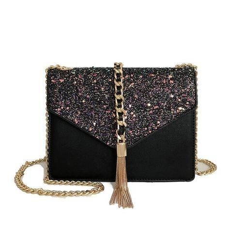 Women Mini Genuine Leather Ladies Luxury Women Flap Bag Rivet Tassel ... 9cdef5ae2933c