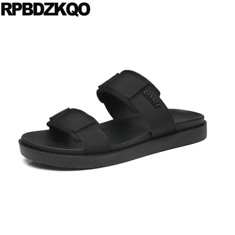 42af919648 Slides Men Platform Designer Water Shoes Mens Sandals 2018 Summer Outdoor  Waterproof Black Casual Slippers Flat Runway Fashion Chaco Sandals Jack  Rogers ...