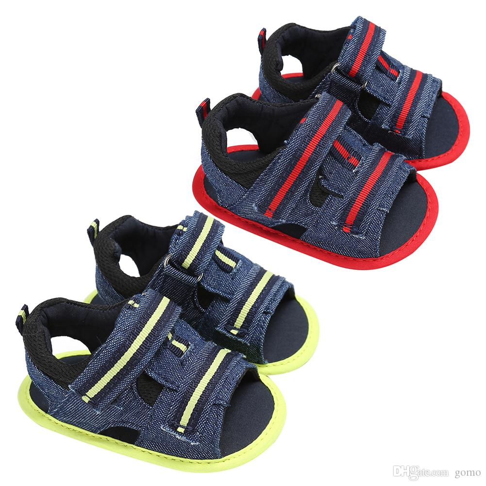 0b7b4d8ce5cb Summer Breathable Kids Shoes Sports Soft Leather Sandals Comfortable  Fashion Casual Baby Boys Girls Shoes Gift Drop Shipping Children Shoe  Brands Black ...