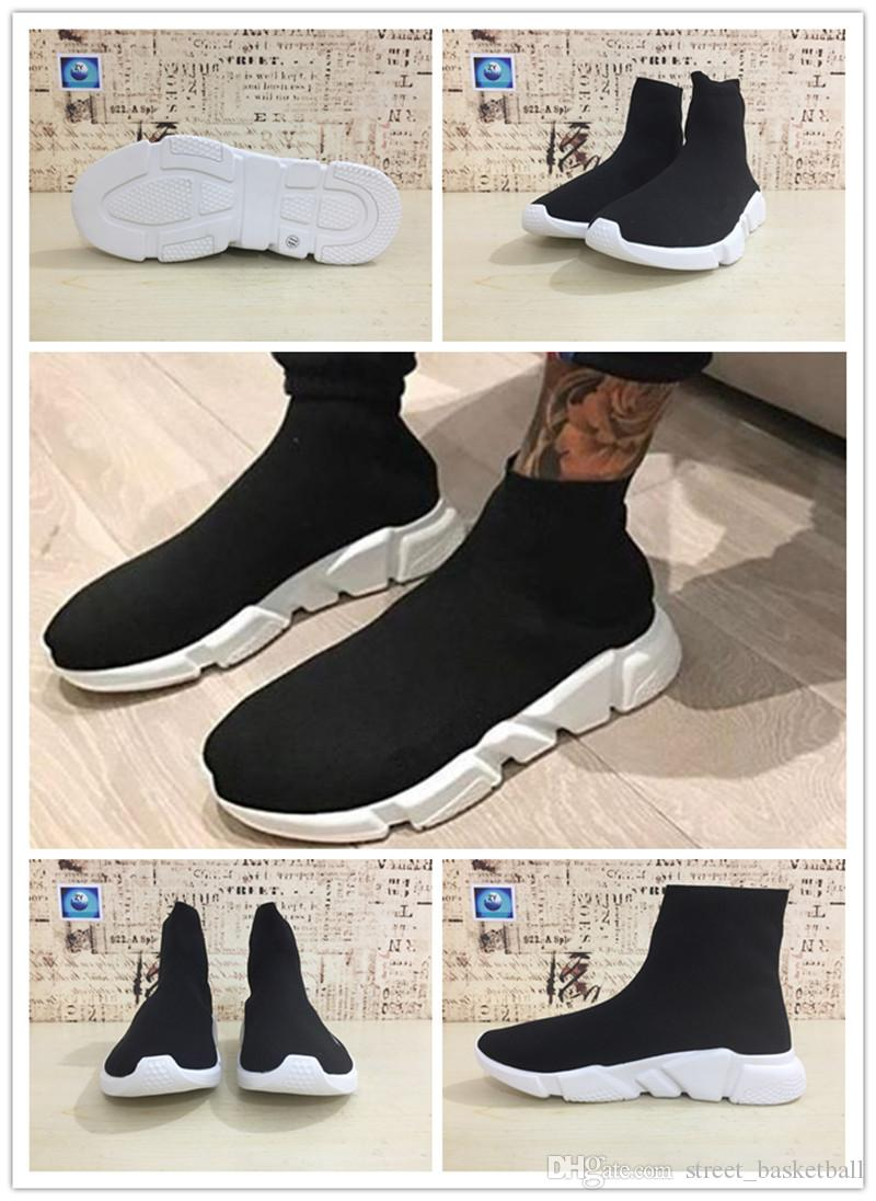 discount classic outlet authentic Discount Hot 2018 Brand High Quality Shoes Flat Socks Boots Women's Slip-on Elastic Cloth Speed Trainer Runner Outdoors Movement Man's Runn with mastercard cheap online Q0gav