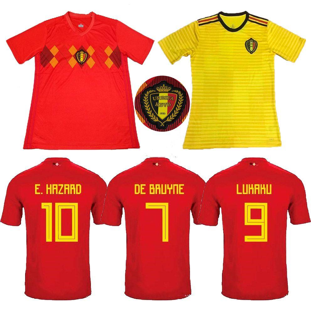 3c6cde9b9ee 2019 Benwon 3A+++ Top Thailand Quality Belgium Soccer Jersey 18 19 Home  Away Football Shirt Men S Outdoor Sports Tops Adult S Uniform From  Michellelyh511