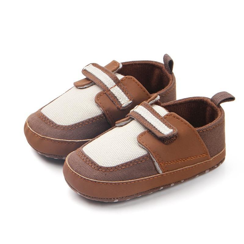 88e1d63590e9d Acheter Bébé Chaussures Coton Tissu Doux Sole Bébé Garçons Chaussures Anti  Slip Toddler Berceau Premiers Marcheurs Pour 0 12 Mois Haute Qualité De   25.6 Du ...
