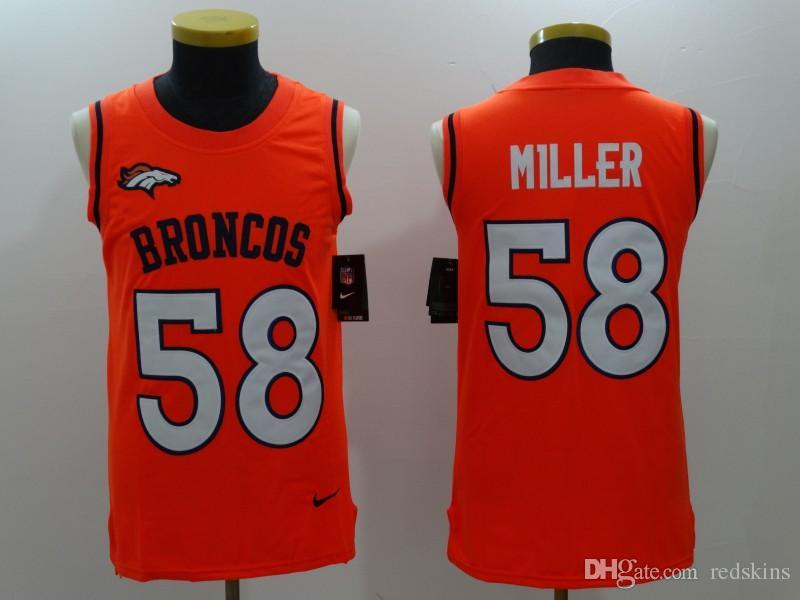 2019 58 Von Miller Jersey Denver Broncos Bradley Chubb Phillip Lindsay Camo  Salute Service Factory Custom American Football Jerseys Stitched Dhl From  Uk999 c66628735