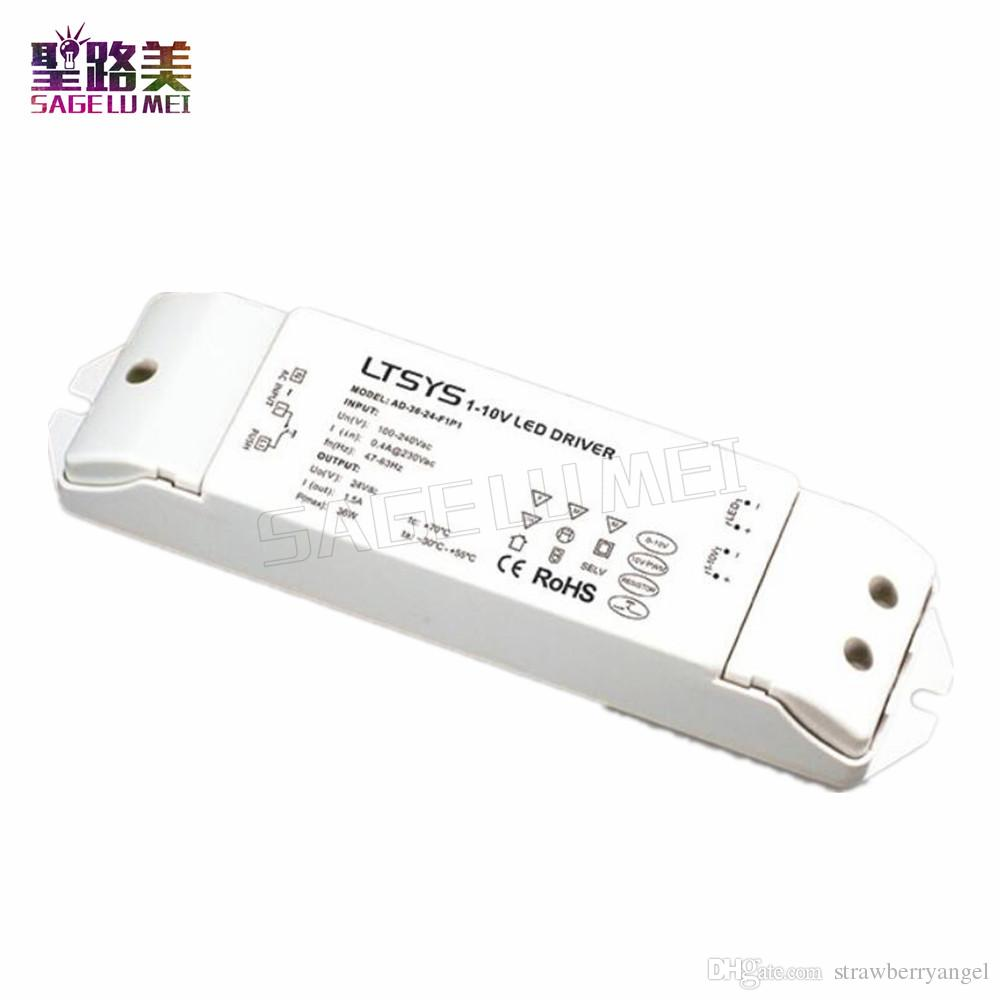 2018 Ltech Ad 36 24 F1p1 36w Cv Led Driver Ac100v 240v Input Dc 24v Pwm Dimmer Using Ne555 15a Output 0 1 10v Or Push Dim Dimming From Strawberryangel