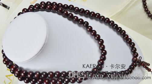 Genuine Tan old material Venus Lobular Rosewood 108 Beads Bracelet High density High oil Wood Rosary Men and women Bracelets