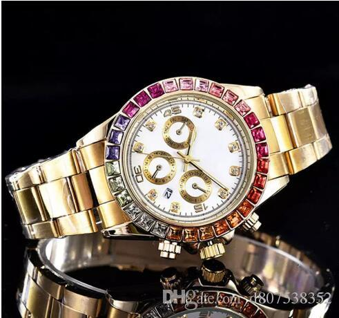 2018 dames montres carrées fleur complet diamants montre en or strass femmes suisse Designer montres automatiques bracelet montre