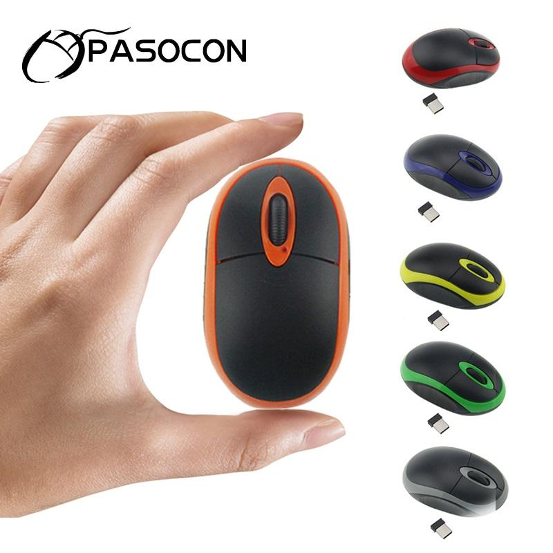 USB Battery Mice 2.4GHz Mini Optical Cordless Mouse Mause PC Computer Mouse Gamer Gift