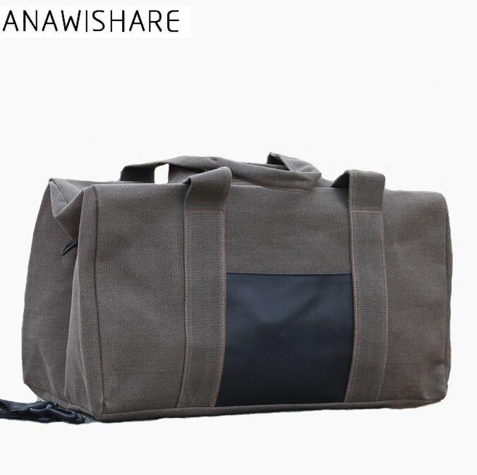 4e786e050934 ANAWISHARE Men Travel Bags Large Capacity Canvas Travel Duffle Bags Women  Luggage Folding Handbag Kid Suitcase Personalized Suitcase From Shoesbuddy