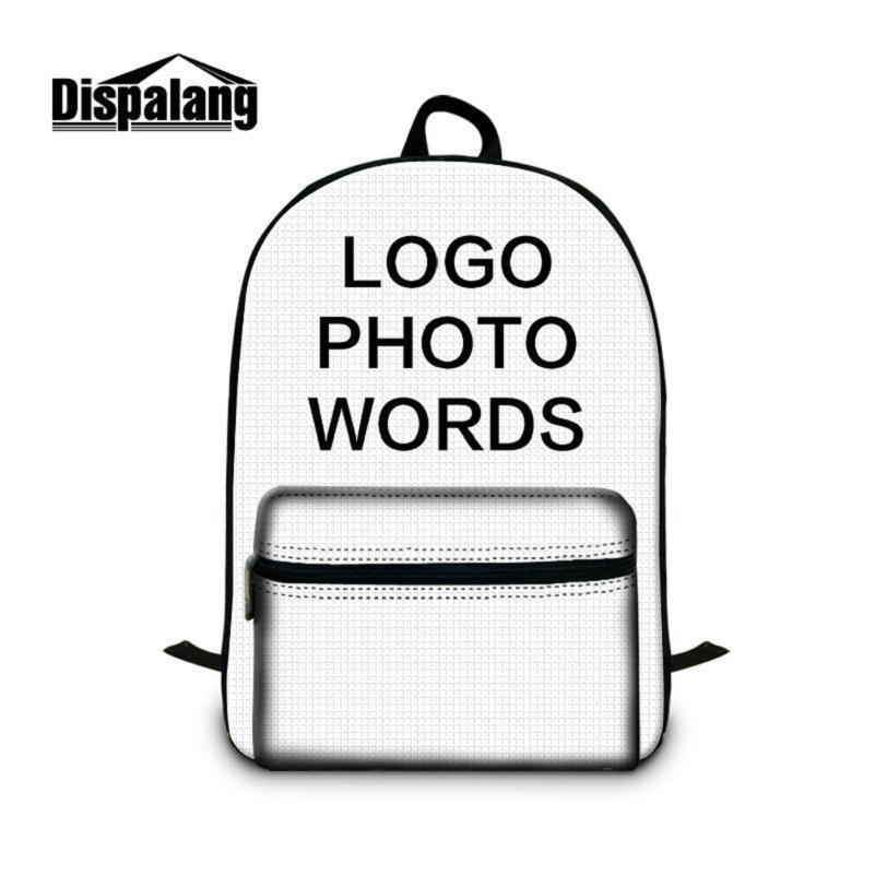 290b6a68e6ac Personalized Customize Backpack To School Children Unique Custom Schoolbags  Bookbags Women Men Portable Outdoor Laptop Bags Mochila Rucksack Hunting ...