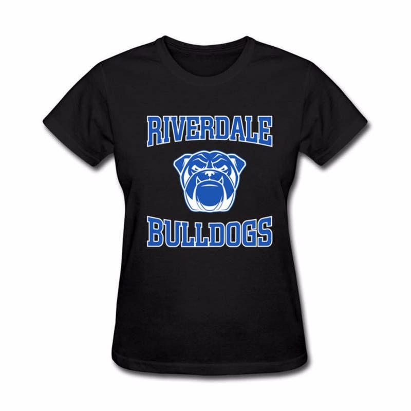 meilleur service 7860d 6036a T Shirt Deals Doudoune Femme Riverdale T-shirt À Manches Courtes Col Rond