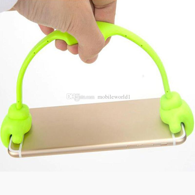 Lazy Cell Phone Thumb Holder OK Staffa Accessori cellulari Accessori scrivania Supporto iPhone Sumsang iPhone