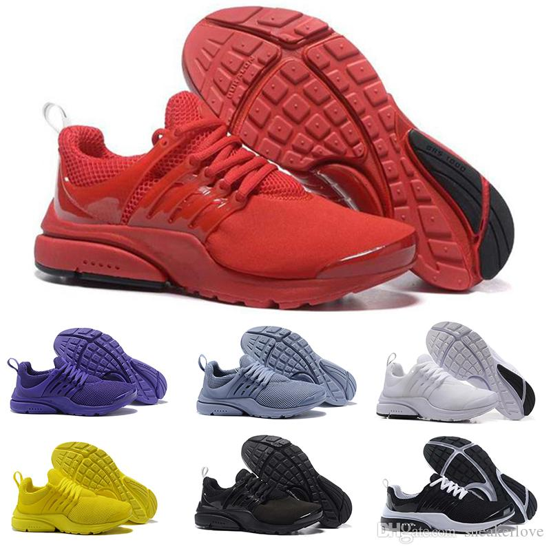 outlet 2015 reliable cheap online 2018 New Presto Ultra Men Shoes Breathable Mesh Running Sneaker BR QS Women Luxury Shoes High Quality Training Shoes SIZE 5.5-12 IIrfl
