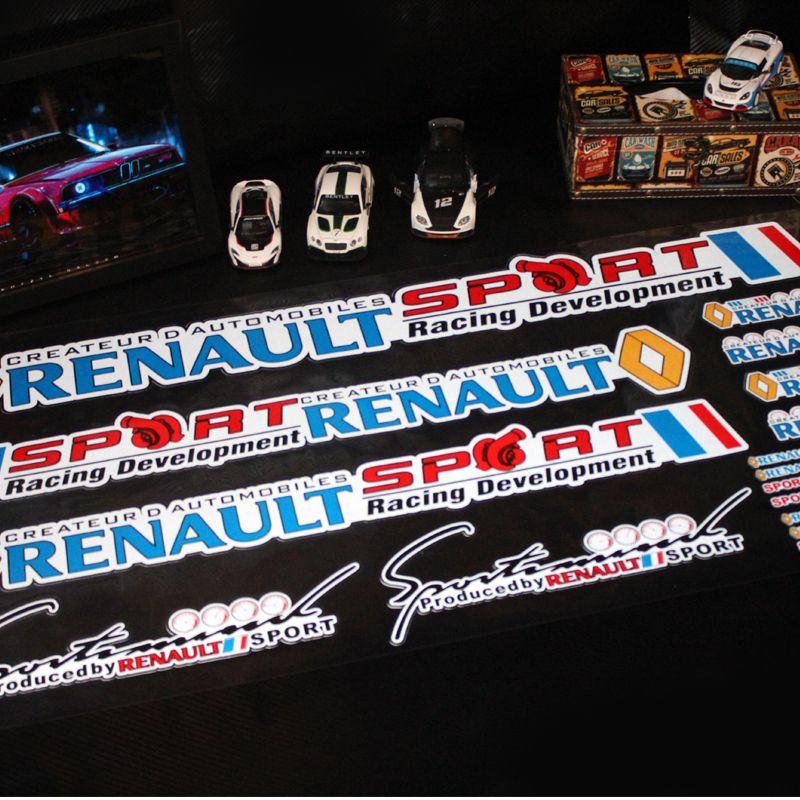 Scenic Voiture Autocollant Koleos Pour Auto Renault Laguna Sport Clio Taiyao De I6ymYvfb7g