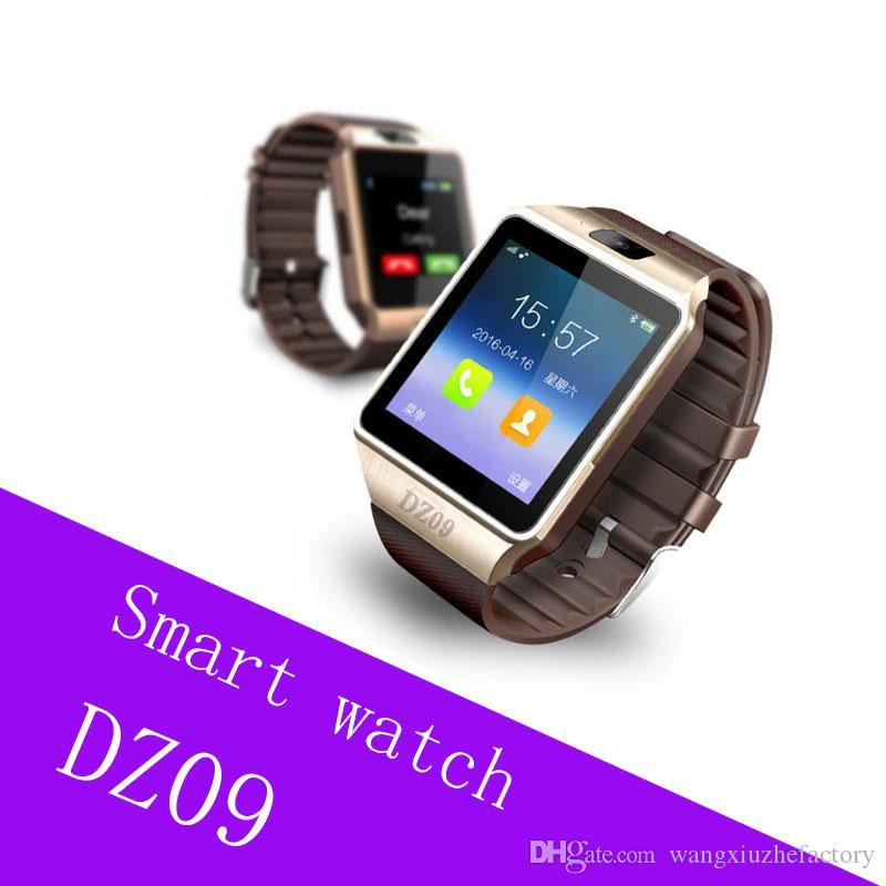 de5fb6e15 Modelos De Telefonos DZ09 Reloj Inteligente Relojes Pulsera Android Reloj  Smart SIM Teléfono Móvil Inteligente Estado De Reposo Reloj Inteligente  Paquete ...