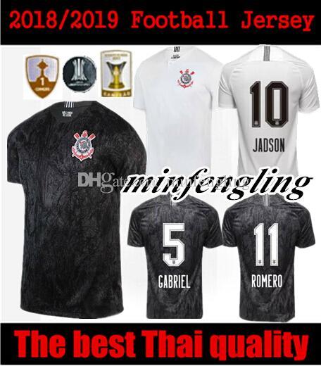 0097a2b87f4 2018 2019 Corinthian Paulista Men Women Soccer Jersey Thai Quality ...
