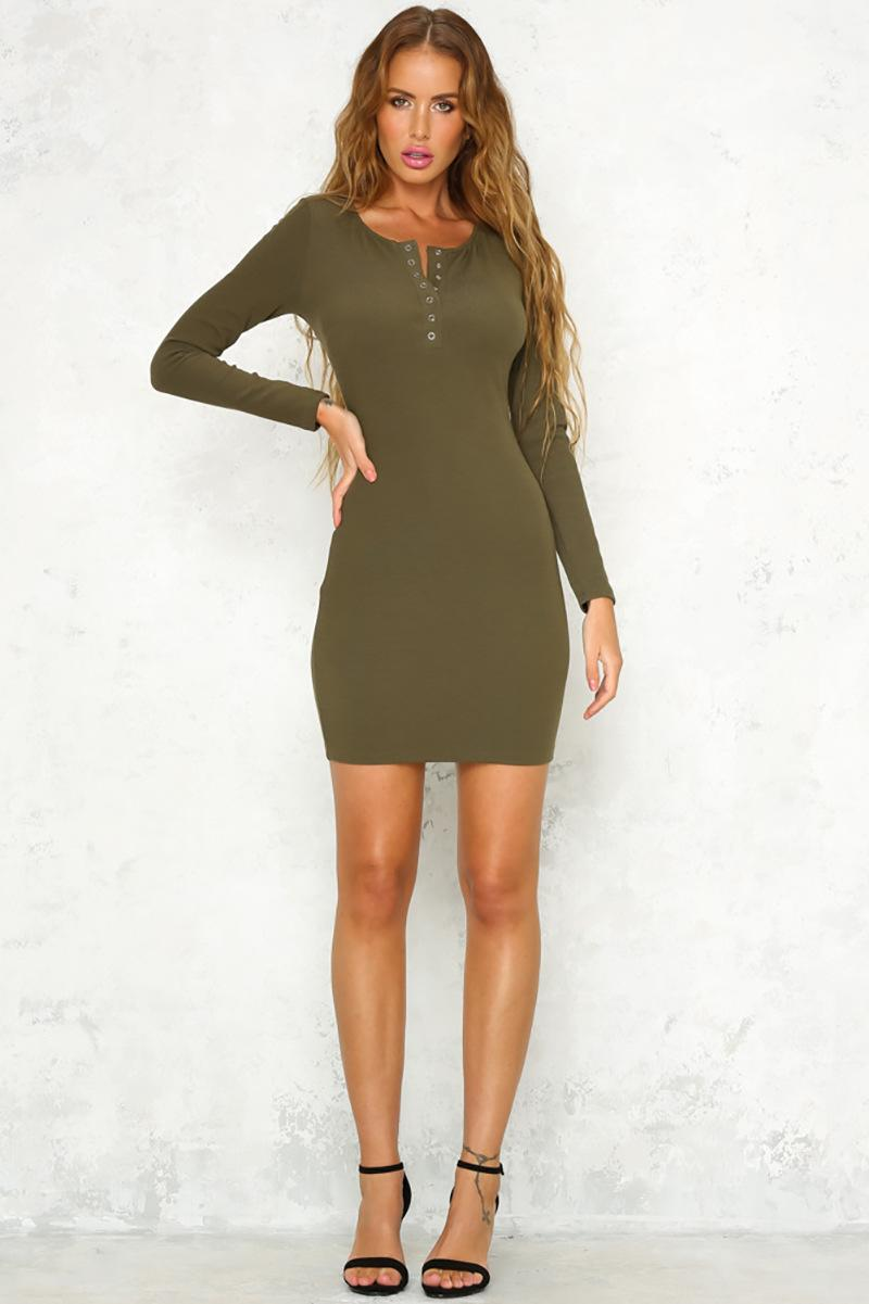 Tight Dresses with Sleeves