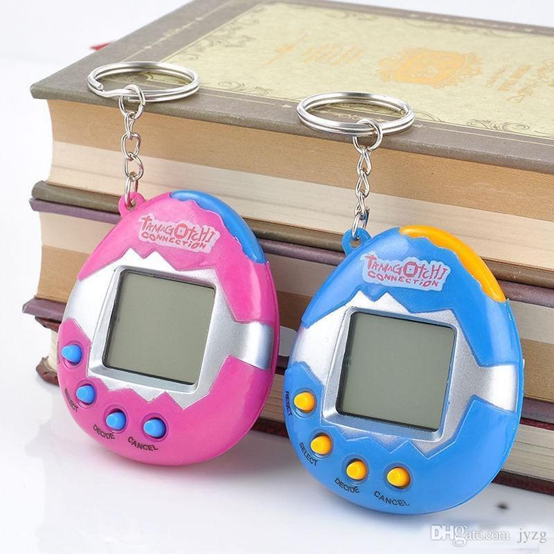 Eletrônico Pet Brinquedos Jogo Retro Brinquedos Animais de Estimação Brinquedos Engraçados Do Vintage Virtual Pet Cyber Brinquedo Tamagotchi Digital Pet Para Criança Caçoa o Jogo