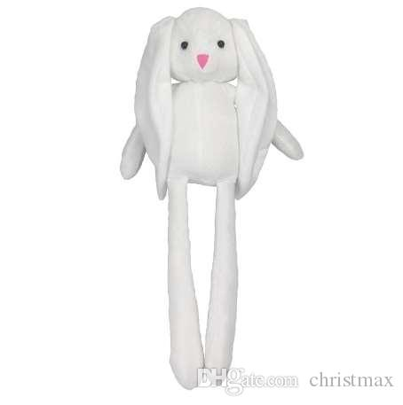 50cm Kawaii Bunny Rabbit Plush Dolls Cute Stuffed Animal Soft Toys for Children Girls Kids Toys Gifts for the New Year
