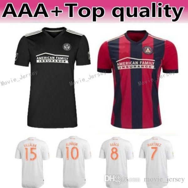 finest selection 461d6 71b57 MLS Atlanta United Soccer Jersey Men Team FC 24 GRESSEL 5 PIREZ 3 PARKHURST  16 McCANN 1 GUZAN Football Shirt Kits Make Custom