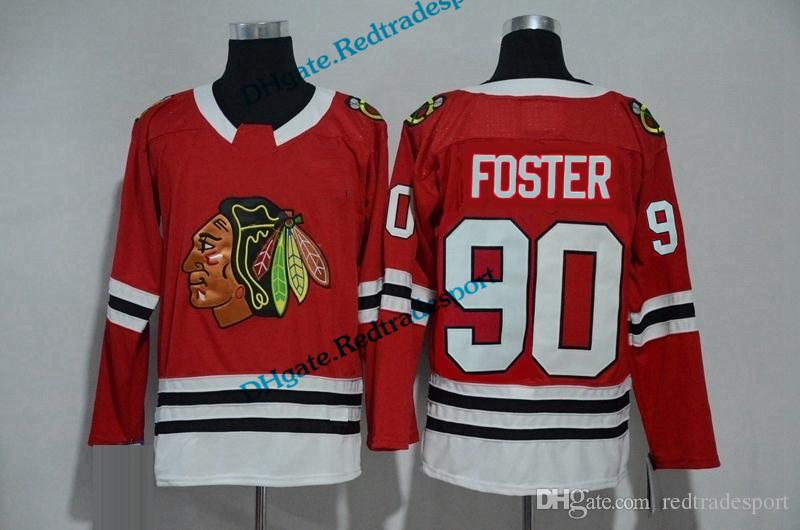 2019 2018 Chicago Blackhawks Scott Foster Hockey Jerseys Mens Emergency  Goalies 90 Scott Foster Red Stitched Jerseys From Redtradesport 4e85a42cedb