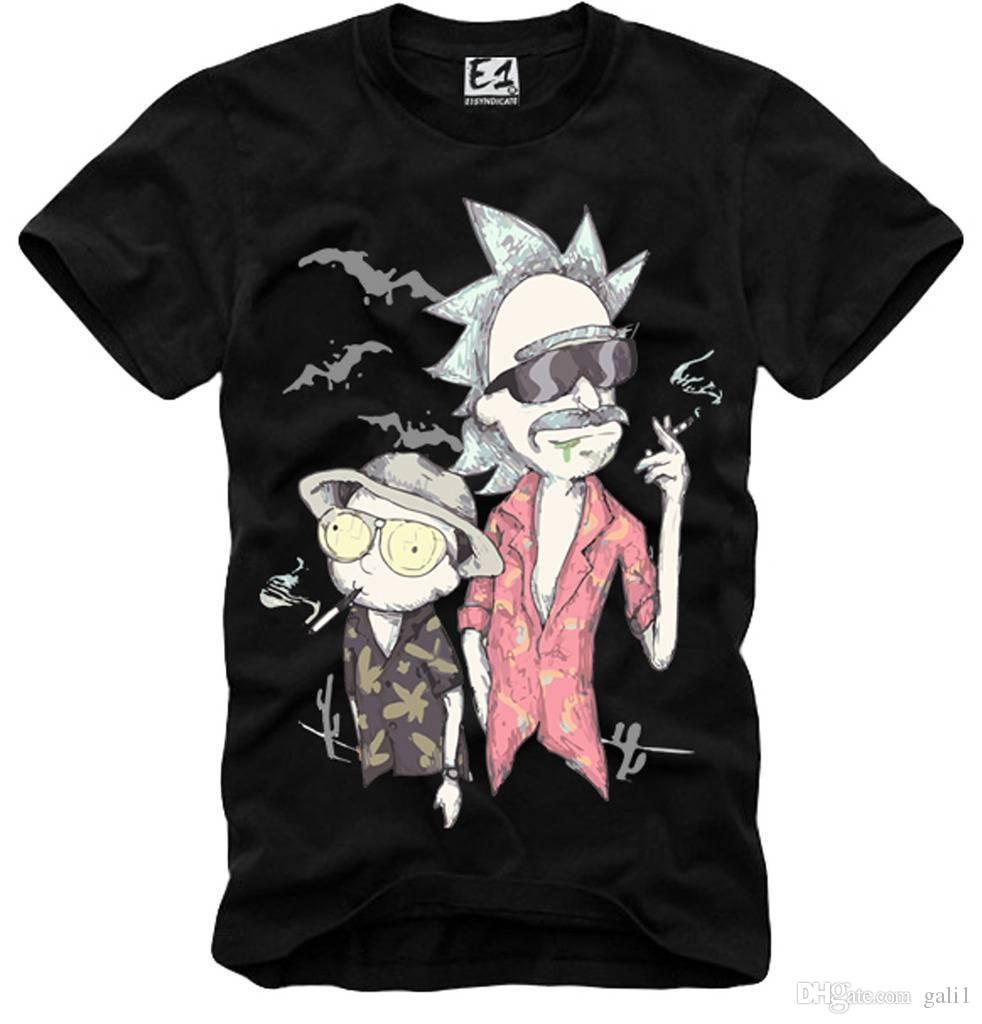 E1SYNDICATE SHIRT FURCHT UND LOATING IN LAS VEGAS RICK MORTY 3441