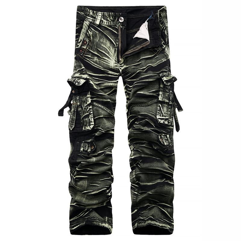 eb4d79188ad 2019 2017 Autumn New Best Sellers Fashion Men S Cargo Pants 100% Cotton  Men S Overalls The Loose Multiple Pockets Camouflage Pants 38 From  Lbdapparel