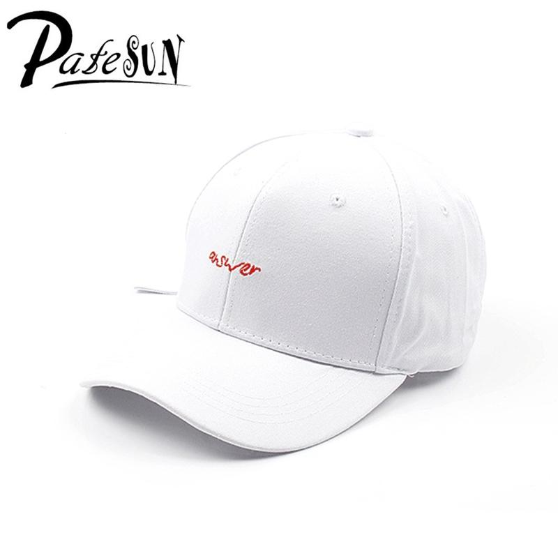 Patesun New Women s Caps Letters Embroidery Casual Men s Hat For Ladies  Girls Adjustable Long Strap Fashion Unisex Female Caps Ny Cap Mens Caps  From Gocan bd4ffdf131