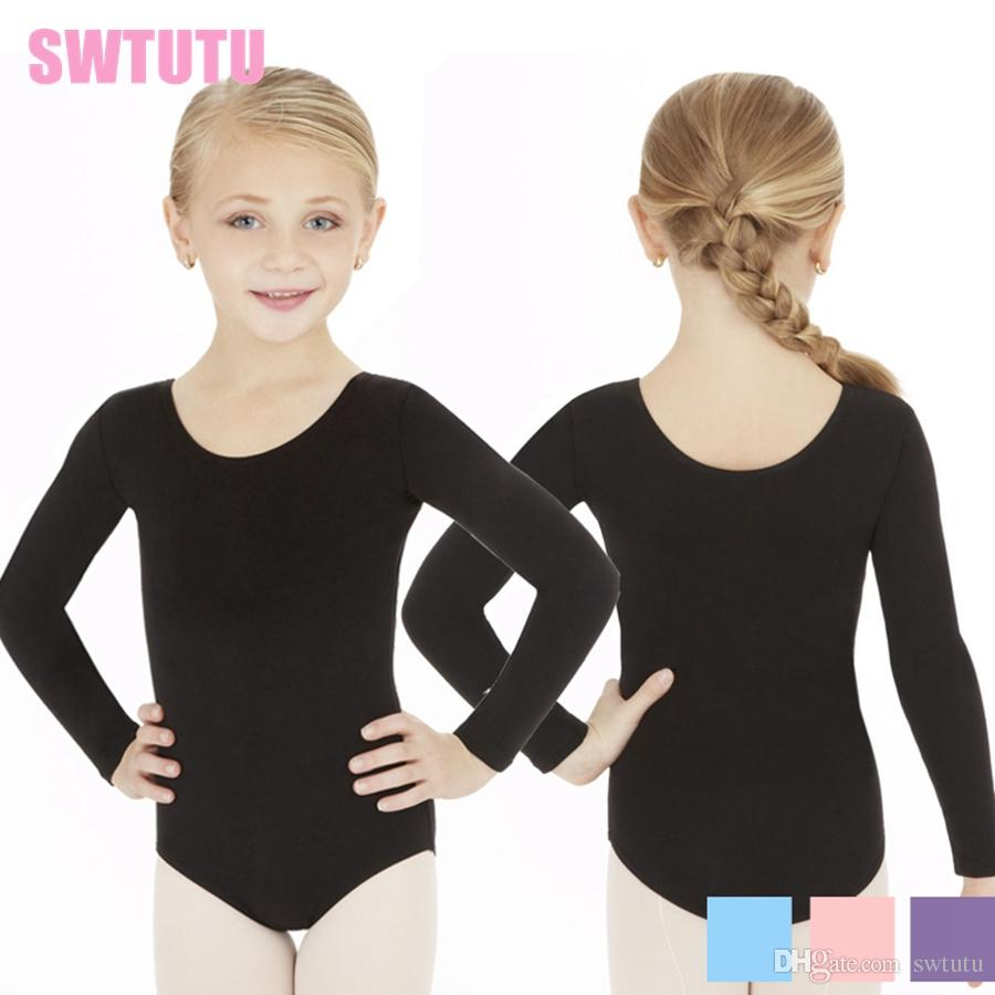 867311676 2019 Child Ballerina Dance Leotard Blue Kids Practice Classic Ballet ...