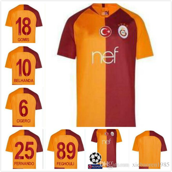 2019 18 19 Turkey Galatasaray Soccer Jersey SNEIJDER PODOLSKI CAMISA  FUTEBOL Football Shirt 2018 Thai Quality Soccer Jersey Shirts From  Xiebaoren1985 6d12185c9