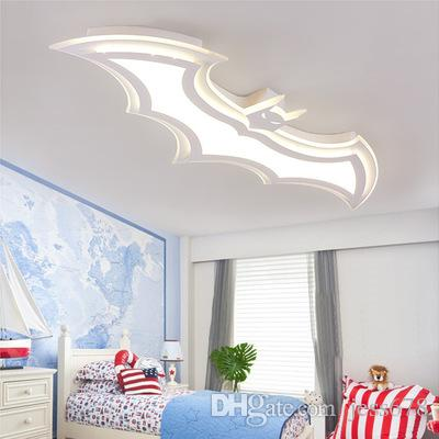 JESS Batman führte Kronleuchter Kinderzimmer Schlafzimmer AC85 - 265V  führte Kronleuchter Acryl modernen Raum ist Kinderzimmer