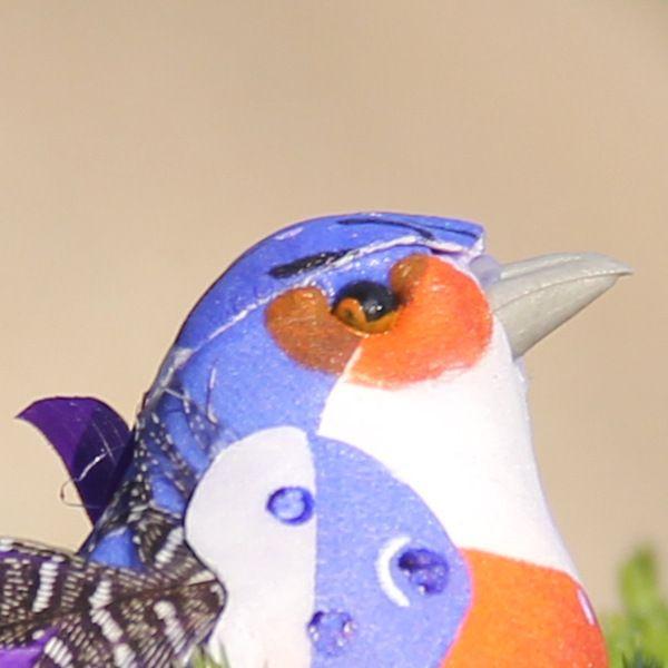 10*4*5CM Decorative Fake Foam Feather Bird Artificial Ornamental Birds For Home Decor Christmas Wedding G610S