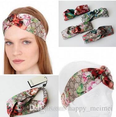 Newest Designer Silk Heaband Hair Sacrf Bands For Women Fashion Luxury  Brand Embroidery Headbands Best Quality Sacrves For Gift Women Hair  Accessories ... e4a0b9b2f70