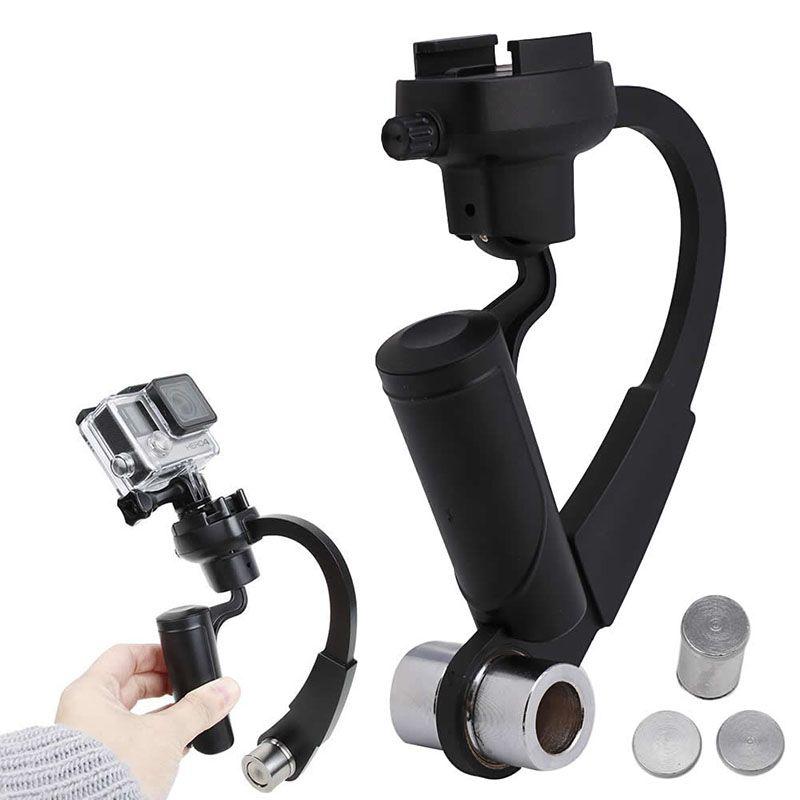 Video Camera Stabilizer >> 2019 Mini Handheld Camera Stabilizer Video Steadicam Gimbal For Hero