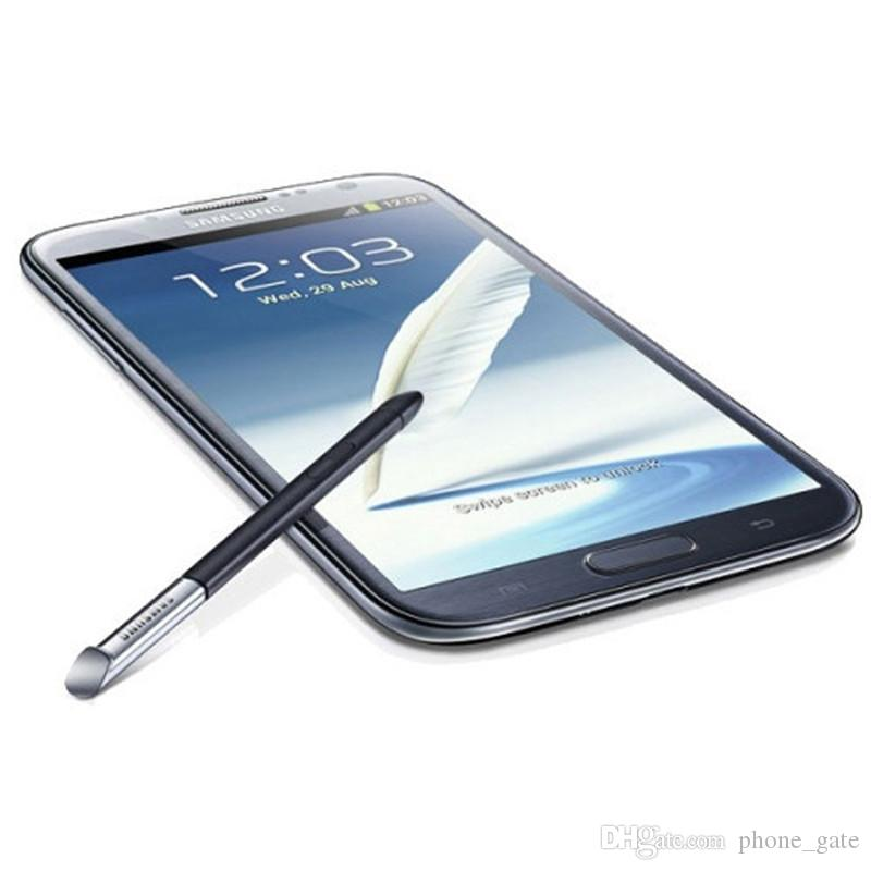 Refurbished Samsung Galaxy Note 2 II N7100 Note2 5.5 inch Quad Core RAM 2GB ROM 16GB Android Smartphone GSM 3G Unlocked CellPhone