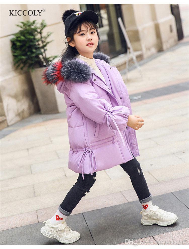 69072112341a New 2018 Fashion Children Winter Jacket Girl Winter Coat Kids Warm ...