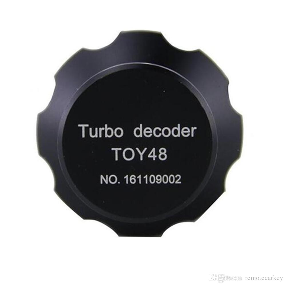 Yüksek Kaliteli TOY48 Oto Turbo Dekoder v.2 Tübüler Kilit Seçtikleri Çilingir Araçları Turbo Dekoder Çilingir Araçları