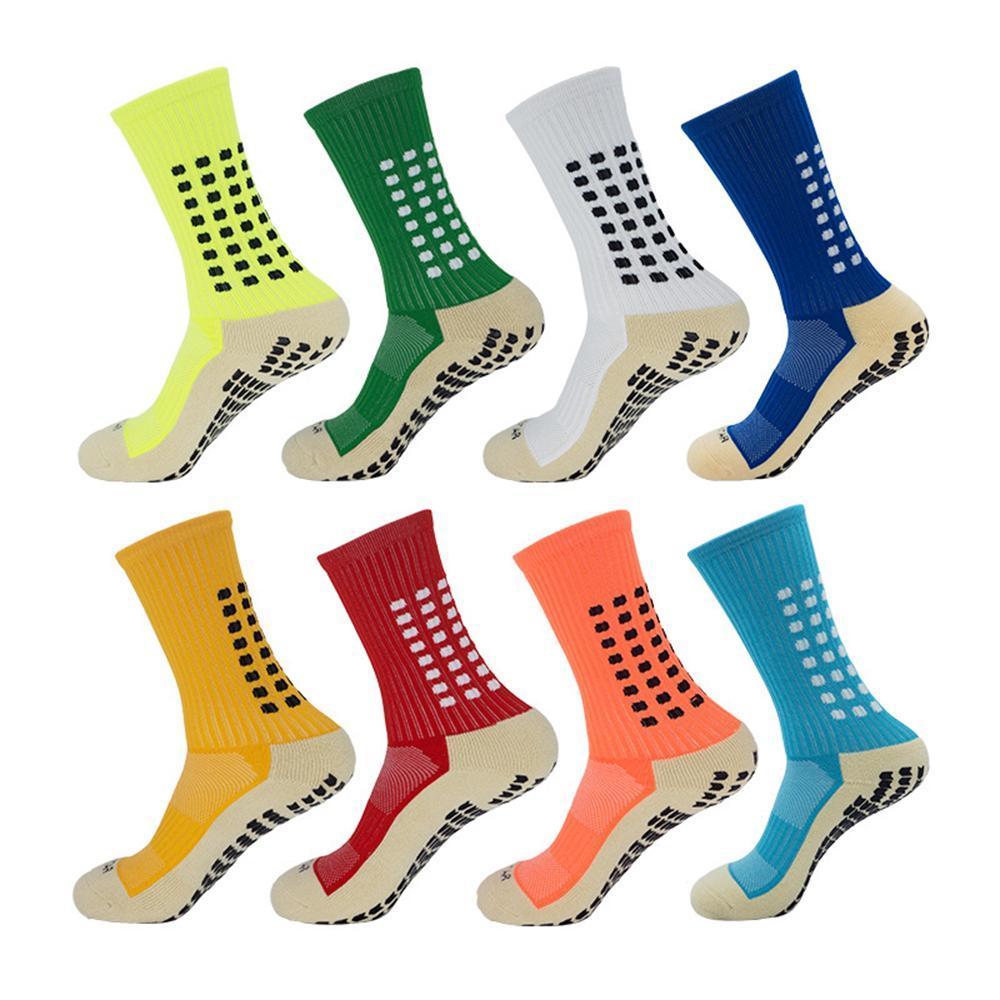 dadf0bb75 Teenager Anti Slip Sport Soccer Socks Cotton Breathable Football Socks  Tocksox Trusox Style LE90 Anti Slip Sport Soccer Socks Breathable Football  Socks ...