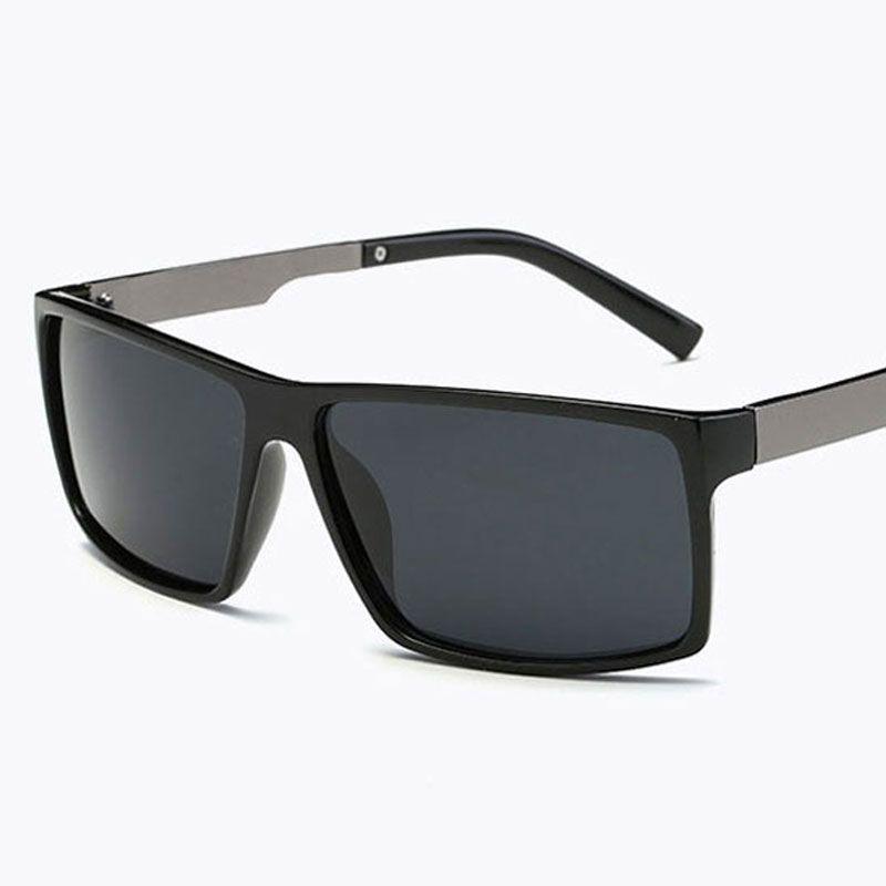 9ef5c59b2a 2018 Square Classic Polarized Sunglasses Men Women Fashion Brand Designer  Vintage Square Driving Sun Glasses For Male UV400 Wiley X Sunglasses Mirror  ...