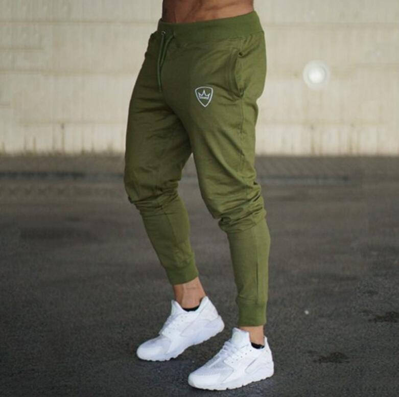 ef8b18cb Gym Casual sweatpants SJ Gyms Men Pants Cotton 2018 Track Pants Joggers  Sweatpants Casual Sweat Pants