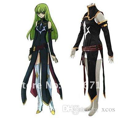 cd7e77d11cc Code Geass R2 C.C Cosplay Costume Online with  54.86 Set on Xcos s Store