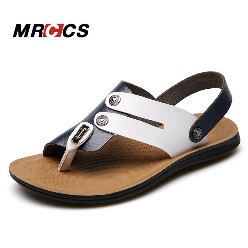 2943a3c5386c65 MRCCS Hit Color Design Flip Flop Sandals For Men