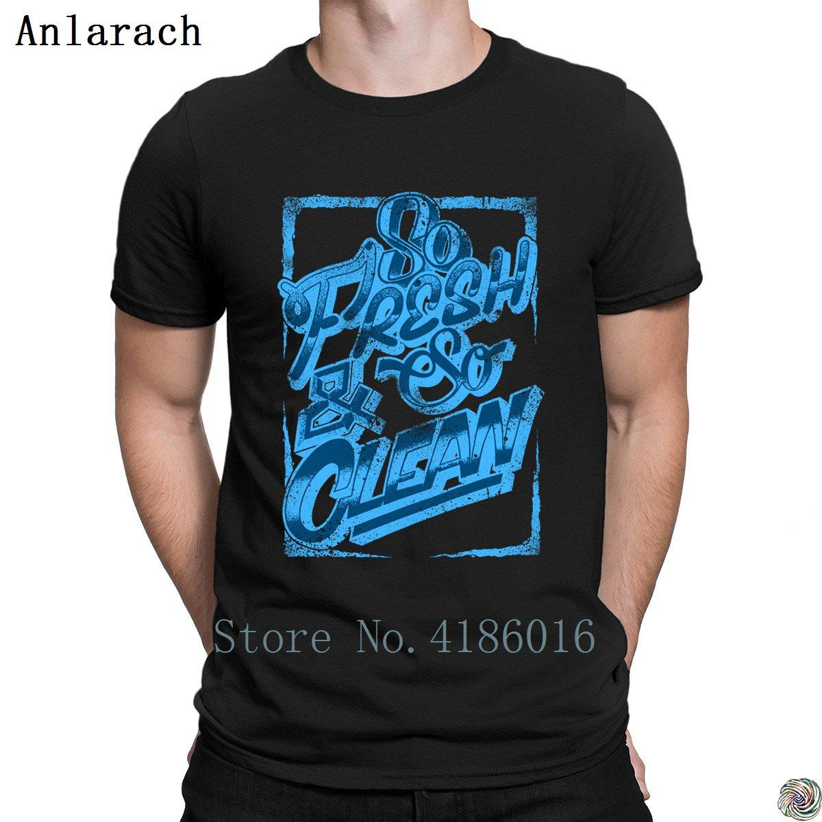 635a2c84 So Fresh And So Clean T Shirts Summer Pop Top Tee Popular Cotton T Shirt  For Men Personality Solid Color Standard Family Funny It Shirts Ridiculous  Shirts ...