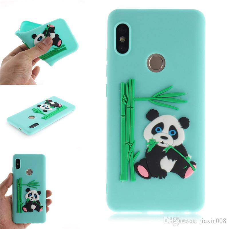 Fashion Cover For Xiaomi Redmi Note 5 Case Coque Candy Silicone Panda bamboo Soft Phone Cases Covers For Xiaomi Redmi Note 5 Pro