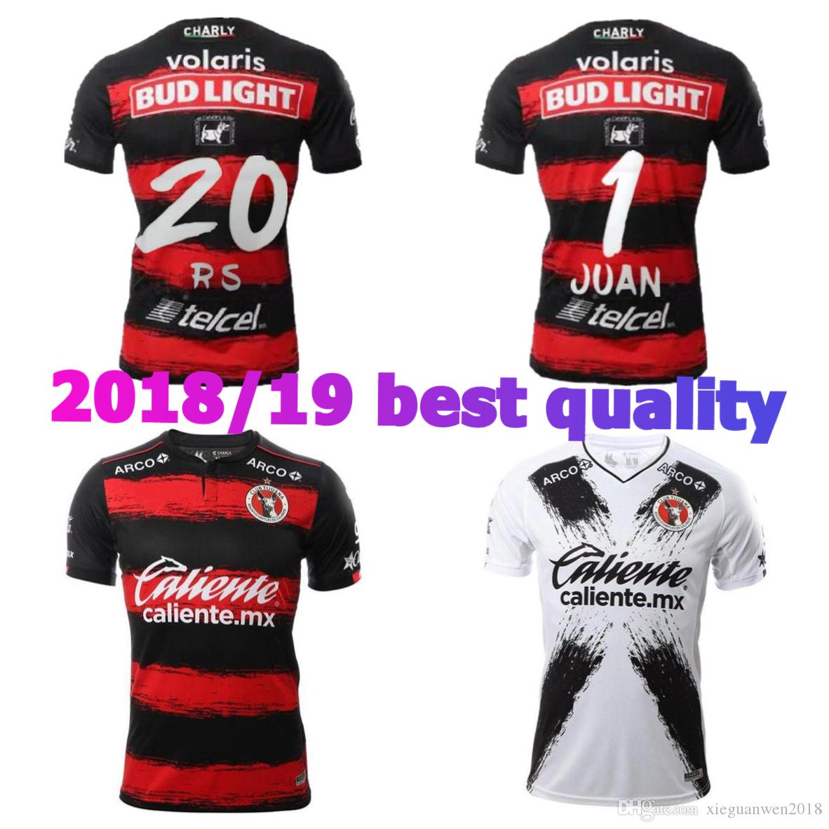 49d8ce176 2018 Xolos De Tijuana TOP Quality CHARLY JERSEY AP 18 19 Mexico Club Tijuana  Home Away Soccer Jersey CORONA LUCERO 2019 Football Shirt Canada 2019 From  ...