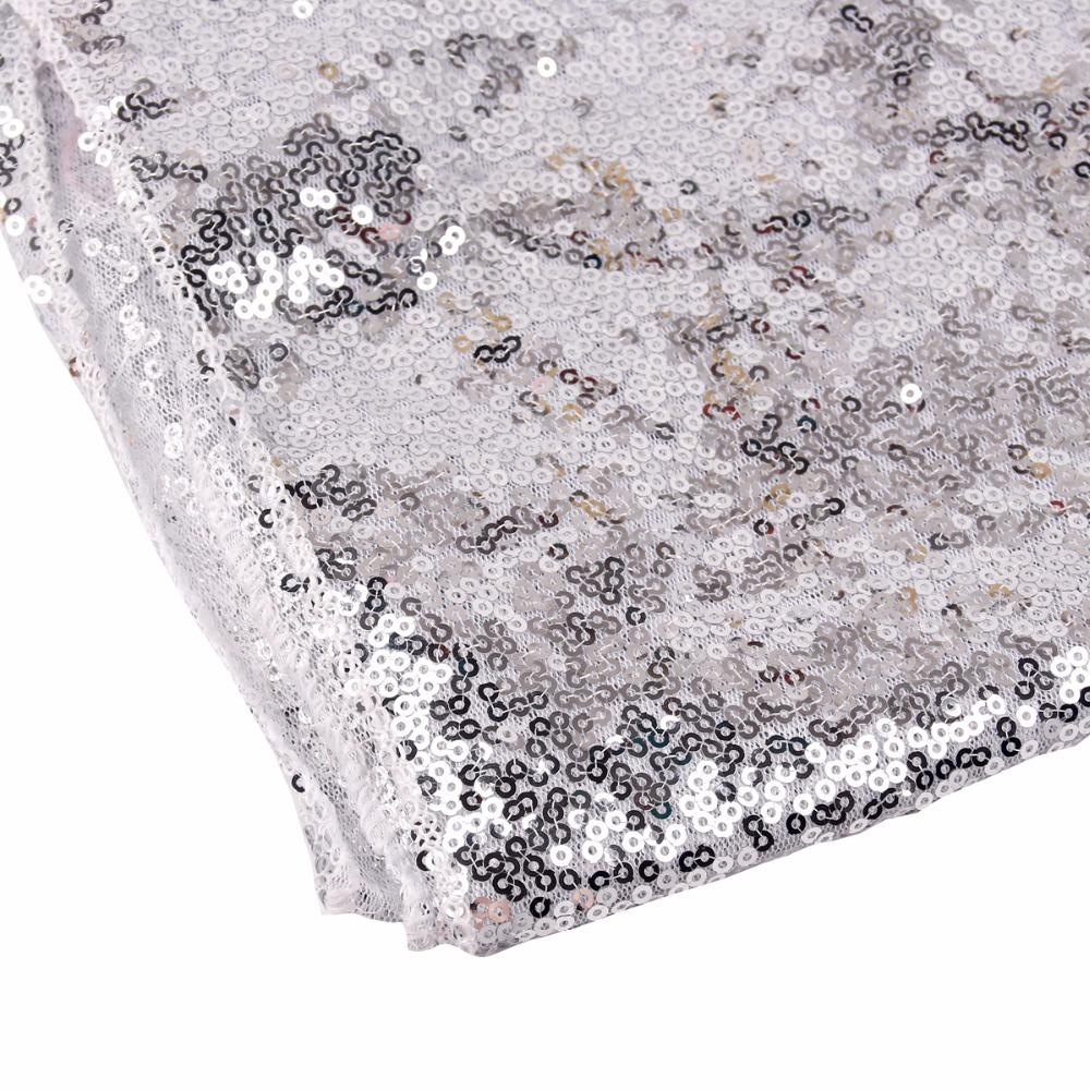 FENGRISE 30x275cm Gold Sequin Table Runner Wedding Table Decoration Champagne Silver Tablecloth Bachelorette Party Decoration